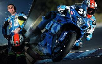 Vincent Philippe, champion d'endurance moto avec Mignotgraphie
