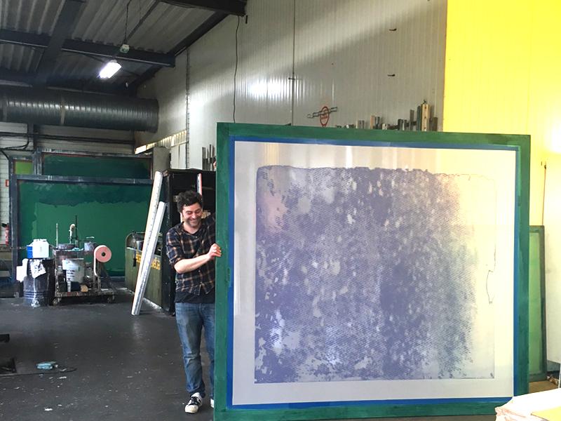 Les artistes contemporains travaillent avec mignotgraphie®