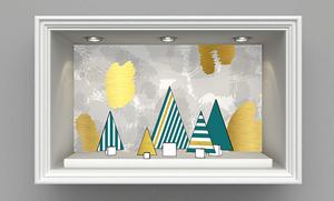 Eléments de décoration pour vos vitrines de Noël