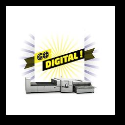 GO DIGITAL cap numérique avec l'imprimante HP scitex FB 10000